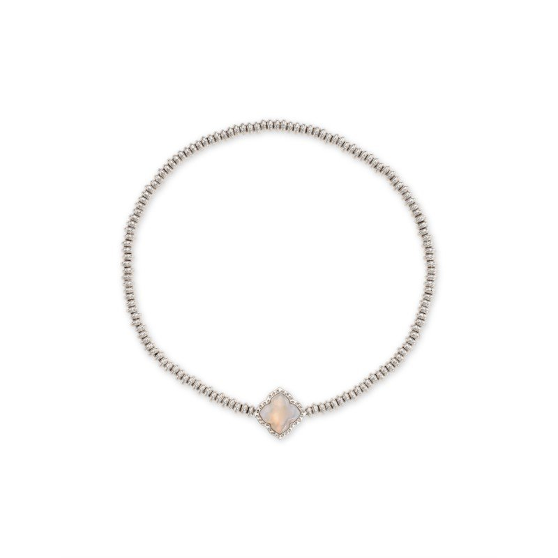 Kendra Scott Mallory in Gray Banded Agate