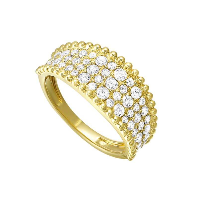 Kelley Collection  Wide Diamond Ring
