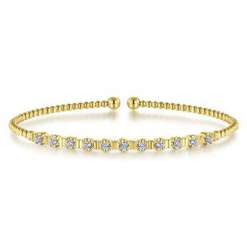 Bujukan Diamond Bead Cuff Bracelet