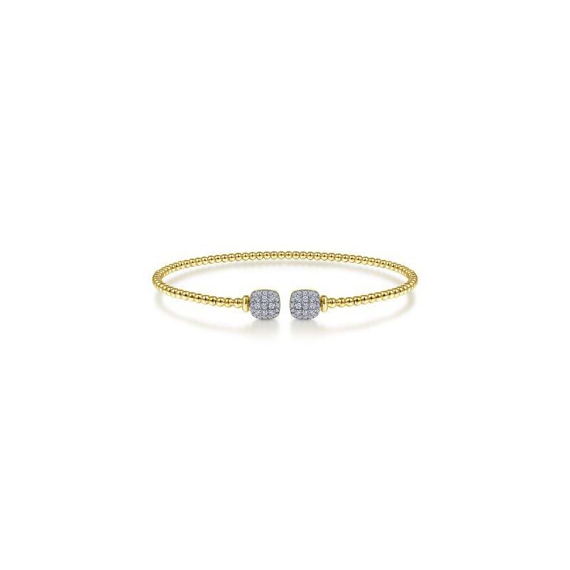 Gabriel NY Fine Jewelry Bujukan Diamond Beaded Cuff Bracelet