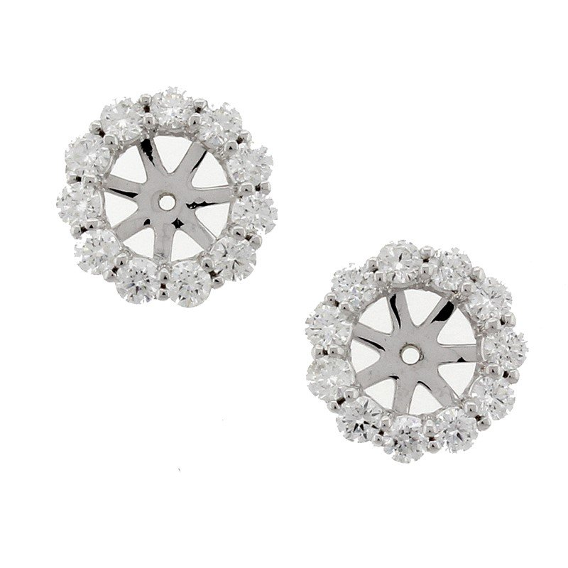 Kelley Collection  Diamond Earring Jackets