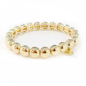 Mini Bubble Bracelet - Gold