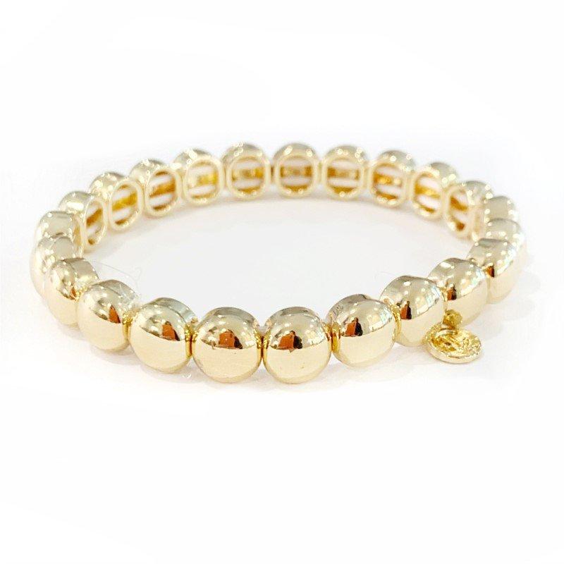 Caryn Lawn Mini Bubble Bracelet - Gold