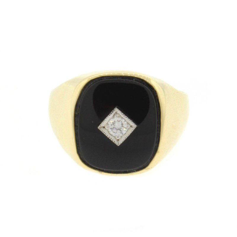 Kelley Collection  Diamond & Black Onyx Ring