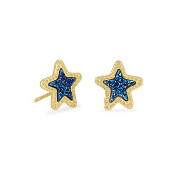 Jae Star in Blue Drusy