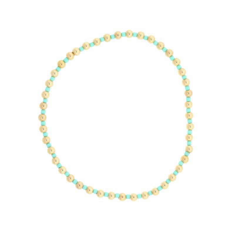 ENewton Design Hope Grateful Pattern Bracelet - Mint