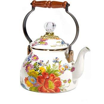 Flower Market 3 Quart Tea Kettle