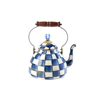 Royal Check Tea Kettle - 3 Quart