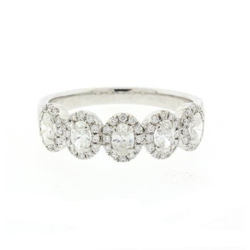 5-Stone Oval Diamond Ring