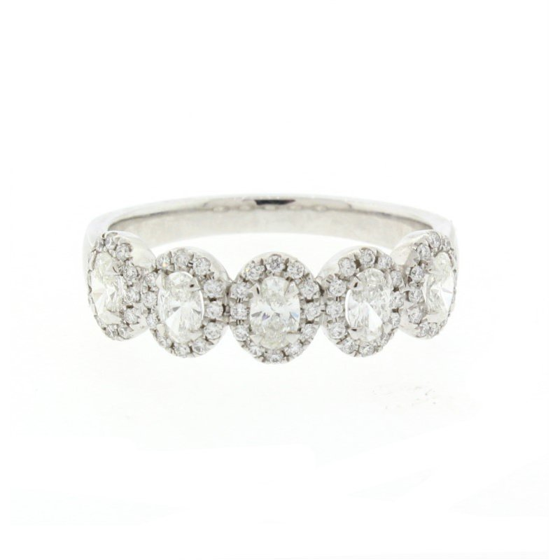 Kelley Collection  5-Stone Oval Diamond Ring