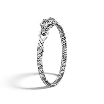 Classic Chain Station Bracelet with Diamond