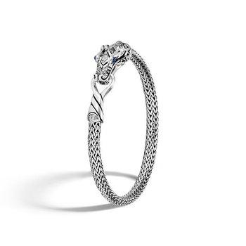 Classic Chain Station Bracelet with Diamond