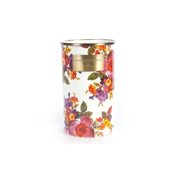 Flower Market Utensil Holder in White