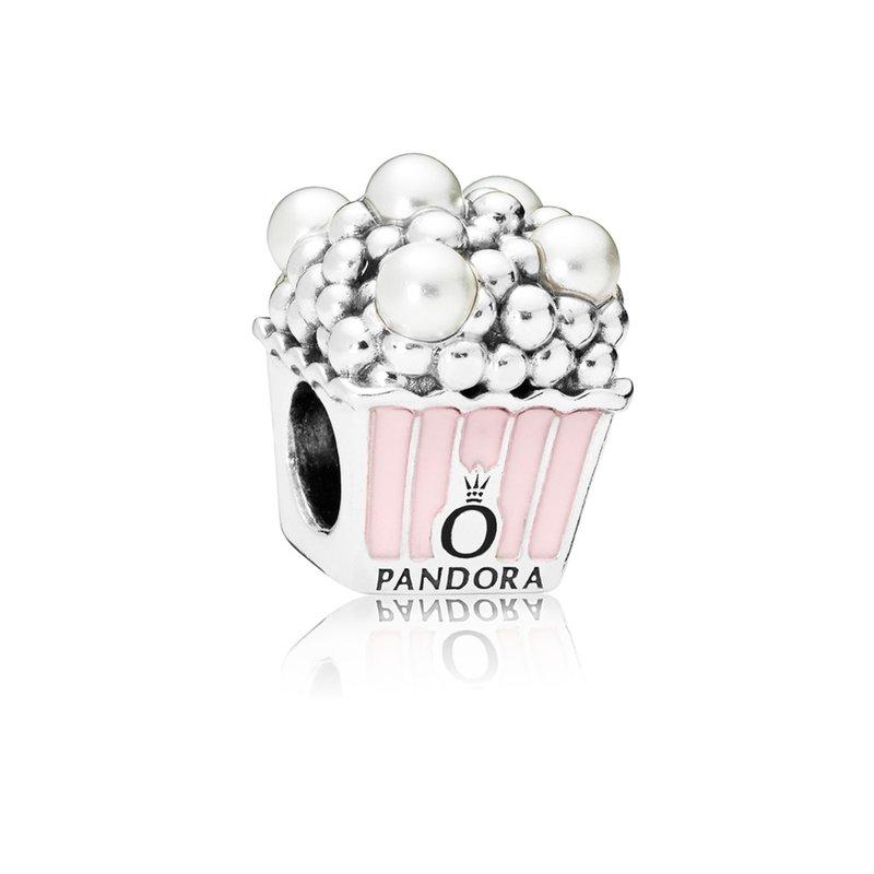 PANDORA Delicious Popcorn Charm