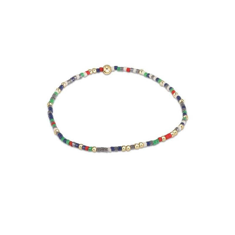 ENewton Design Hope Unwritten Bracelet in Argyle Socks