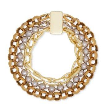 Brylee Bracelet  in Mixed Metals