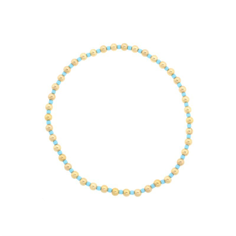 ENewton Design Hope Grateful Pattern Bracelet - Turquoise