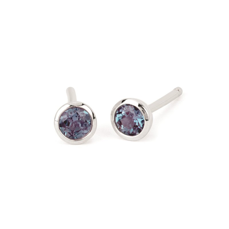 Kelley Collection  Alexandrite Studs
