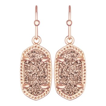 Lee in Rose Gold Drusy