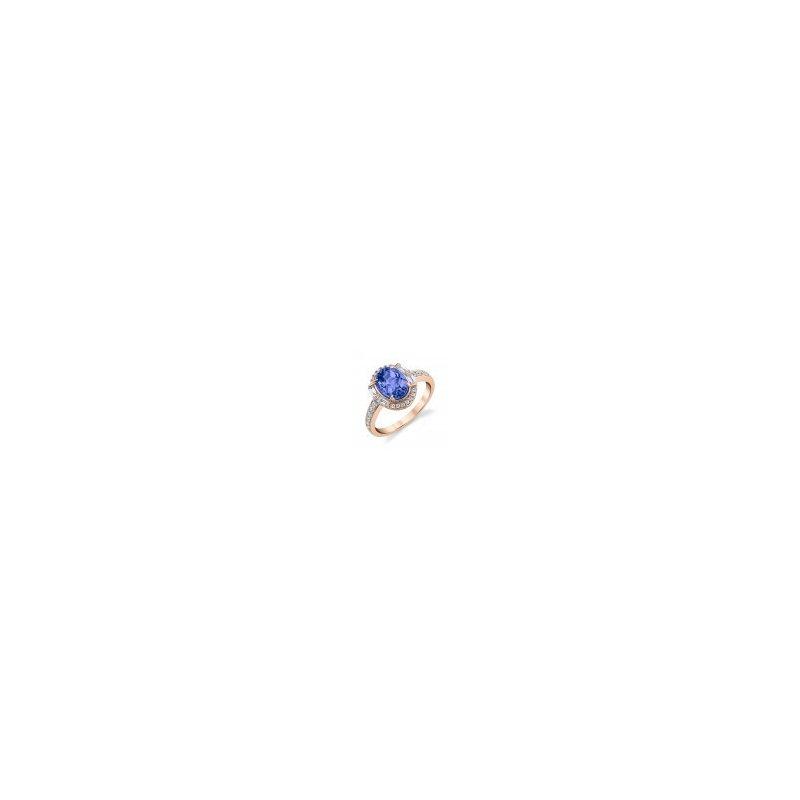 Kelley Collection  Tanzanite & Diamond Ring