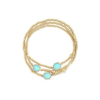 Tomon in Light Blue Magnesite