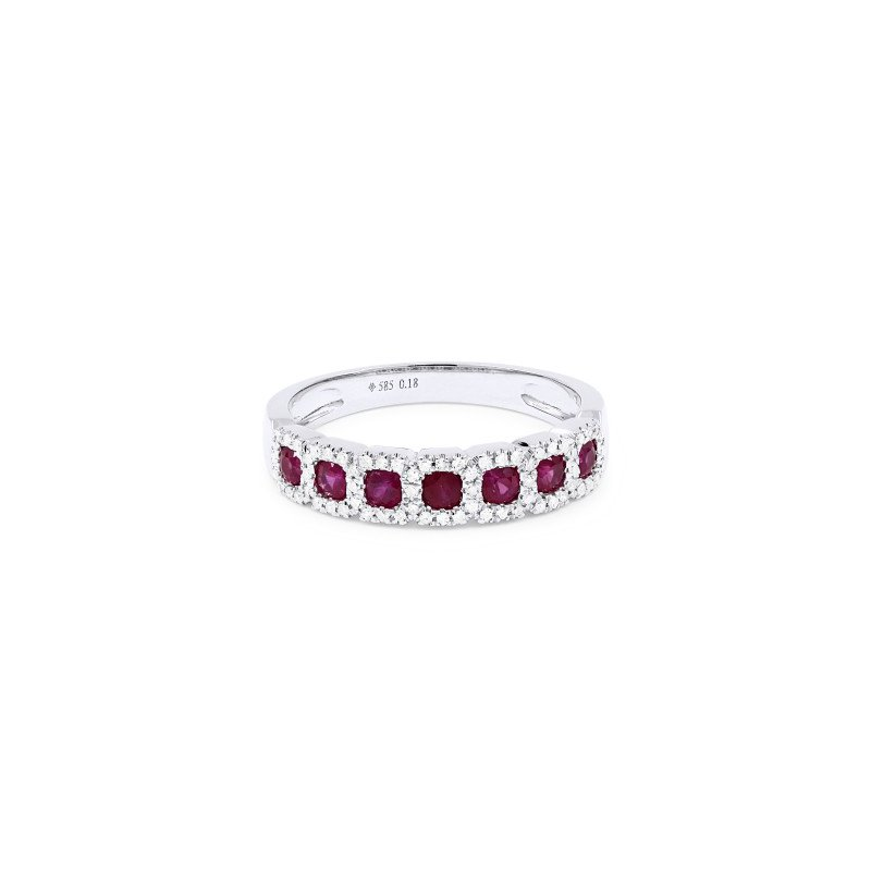 Kelley Collection  Ruby & Diamond Ring