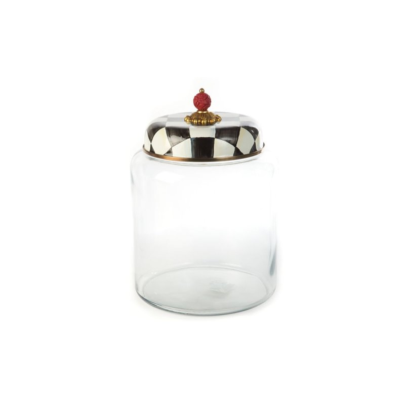 MacKenzie-Childs Courtly Check Storage Canister - Bigger