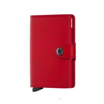 Miniwallet in Original Red-Red