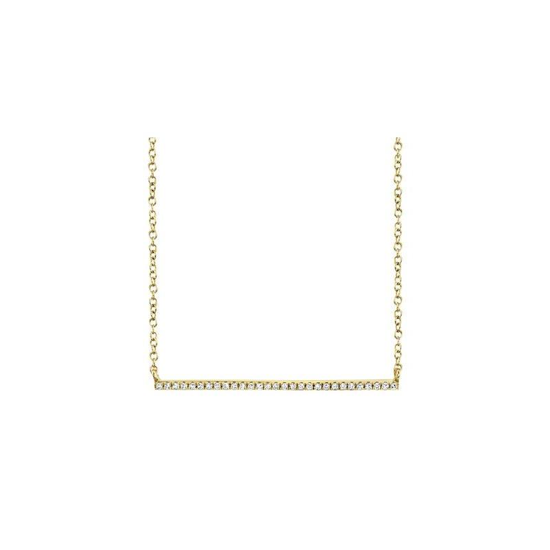 Kelley Collection  Diamond Bar Necklace