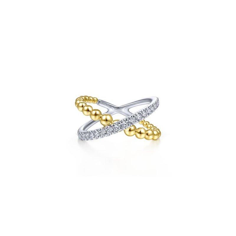 Kelley Collection  Bujukan Criss Cross Ring