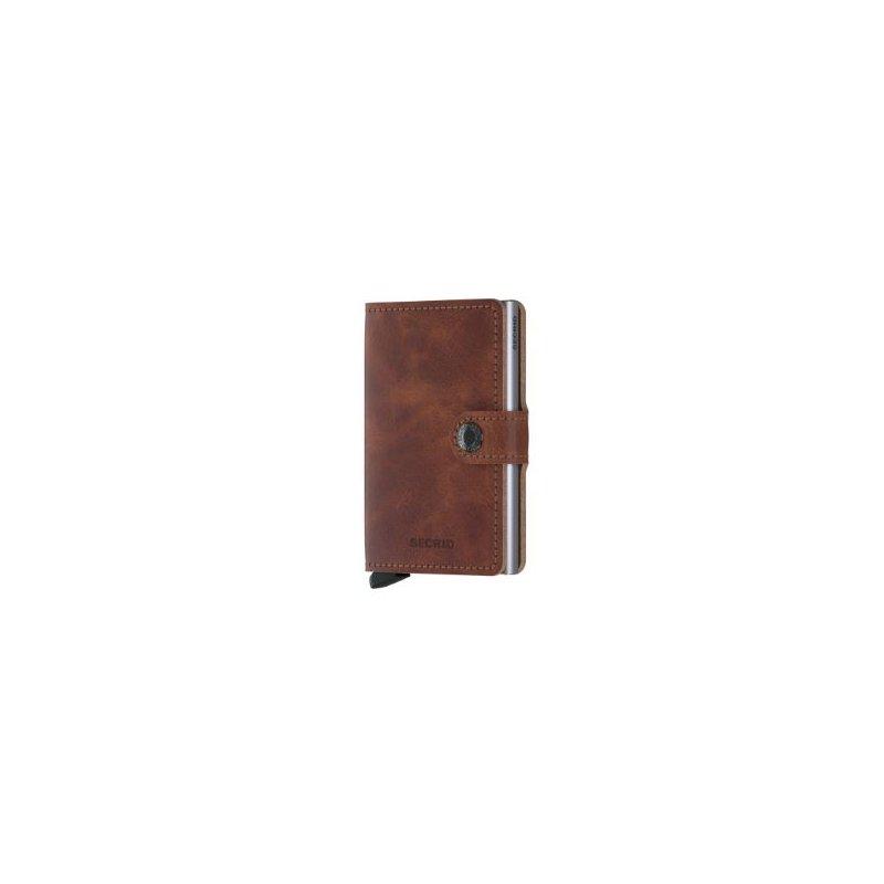 Secrid B.V. Miniwallet in Vintage Brown