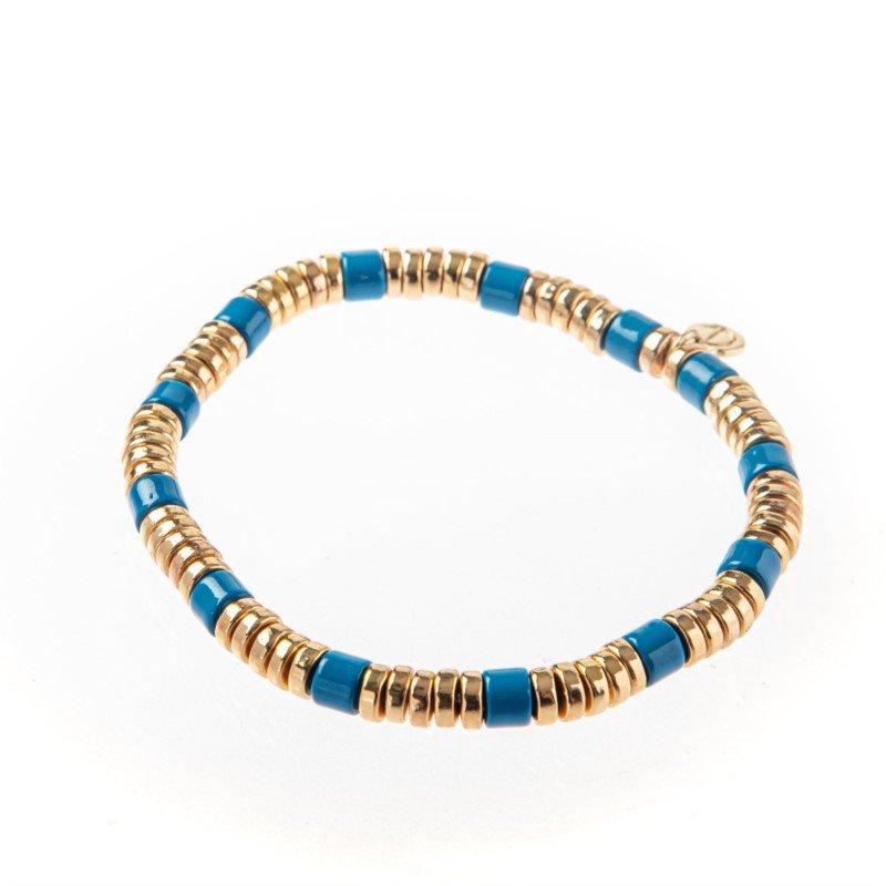 Caryn Lawn Laguna Bracelet Blue/Gold