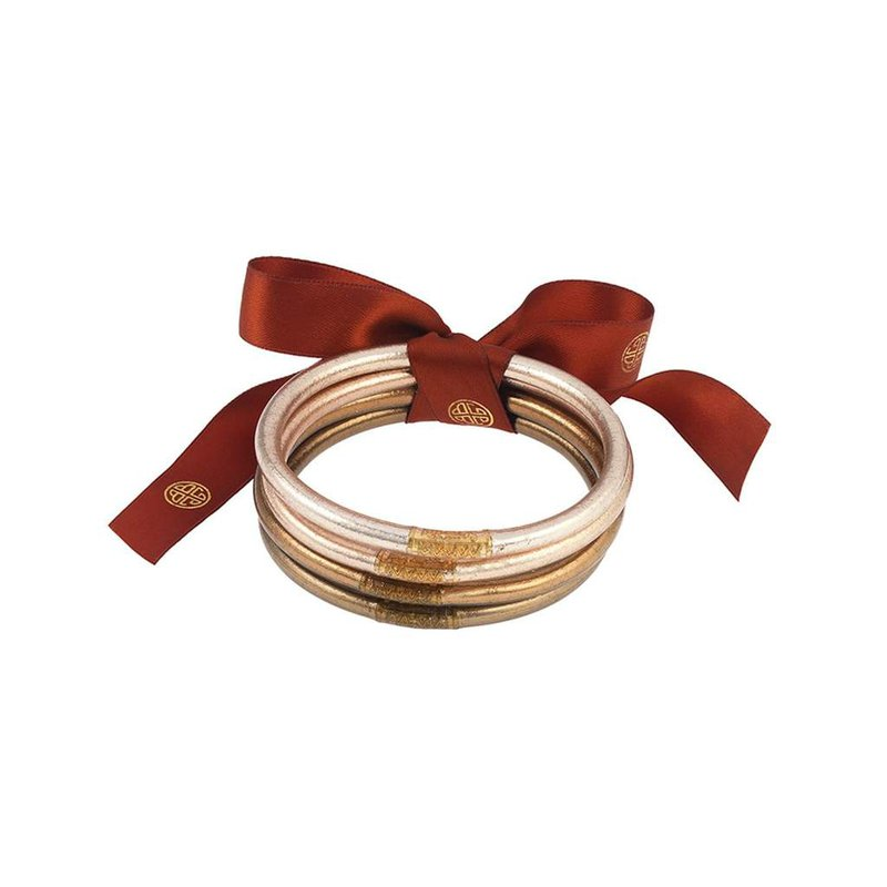 BuDhaGirl Fawn All Weather Bangles in Small