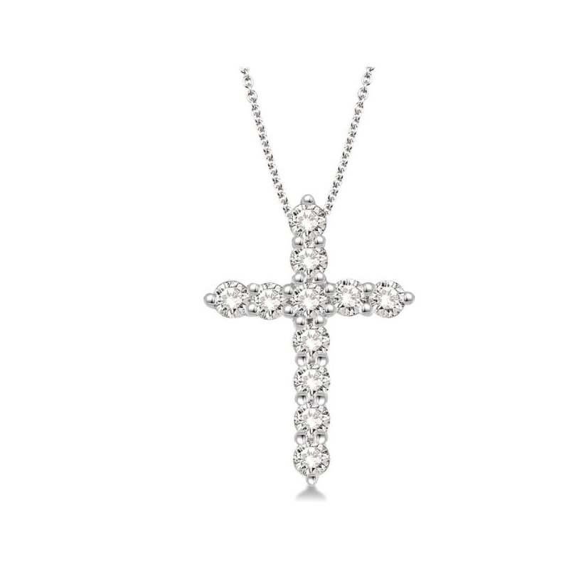 Kelley Collection  Diamond Cross Pendant