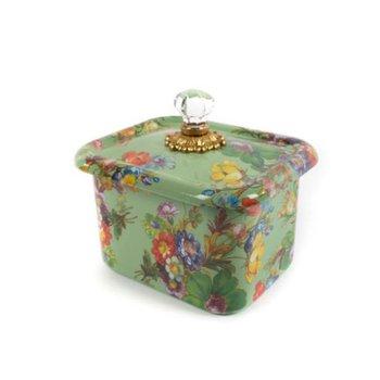 Flower Market Recipe Box - Green