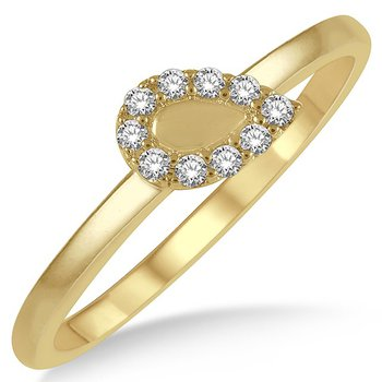 Pear Shape Stackable Band