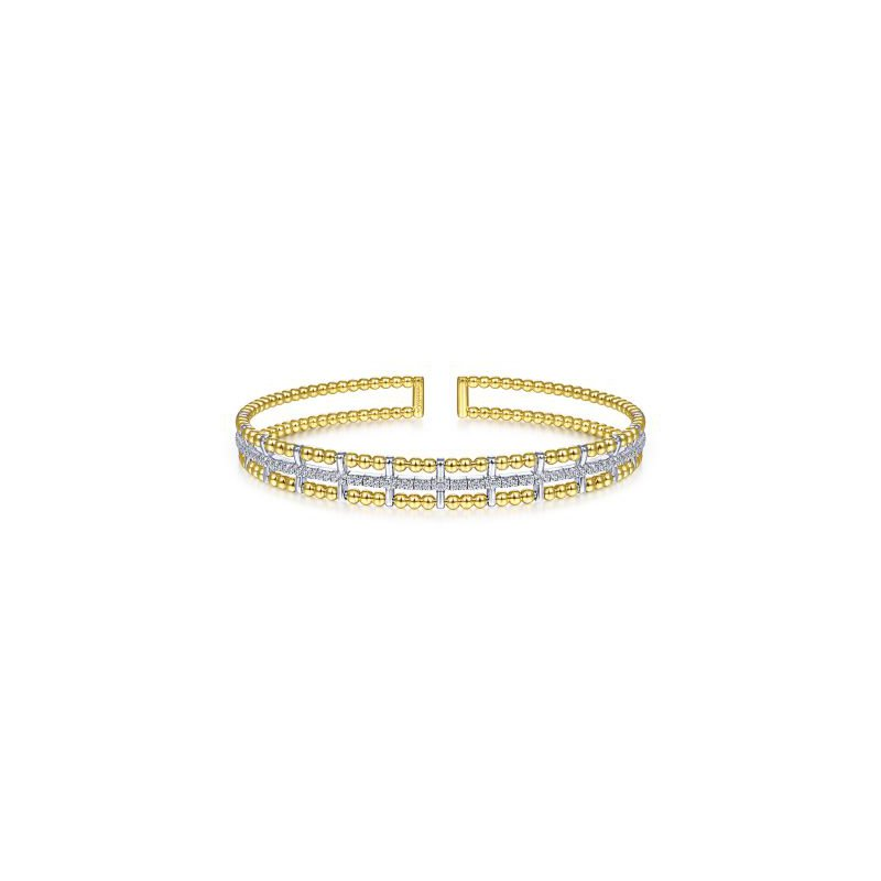 Gabriel NY Fine Jewelry Bujukan Bead Cuff Bracelet