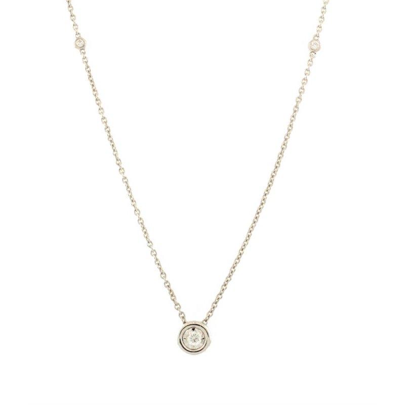 Kelley Collection  Diamond Bezel Pendant