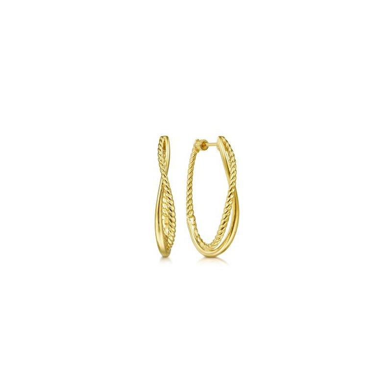 Gabriel NY Fine Jewelry Gold Hoop Earrings