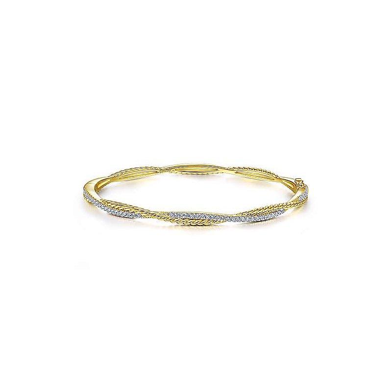 Gabriel NY Fine Jewelry Diamond Bangle Bracelet