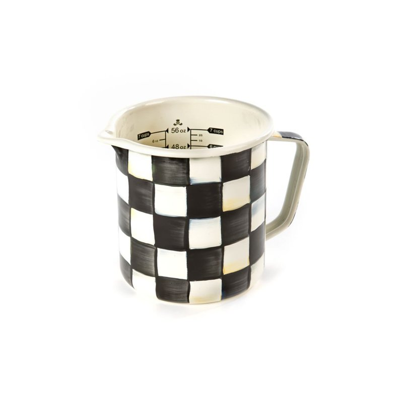 MacKenzie-Childs Courtly Check 7 Cup Measuring Cup