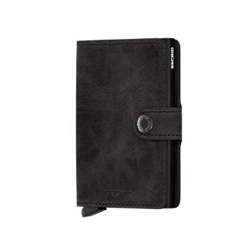 Miniwallet in Vintage Black