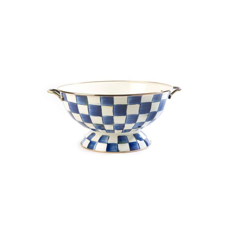 MacKenzie-Childs Royal Check Everything Bowl