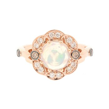 14K Strawberry Gold®  Opal Ring