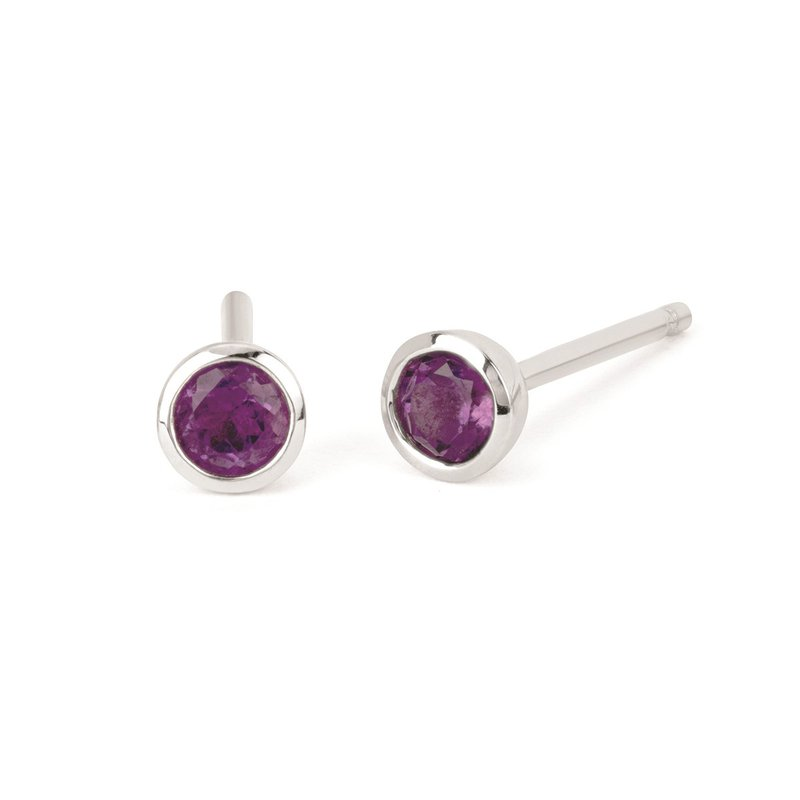 Kelley Collection  Amethyst Studs