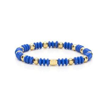 Bev Bracelet in Cobalt and Gold
