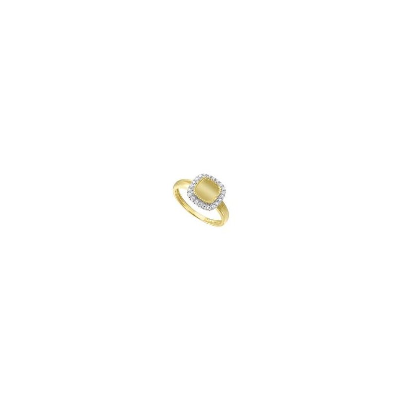 Kelley Collection  Diamond Signet Ring