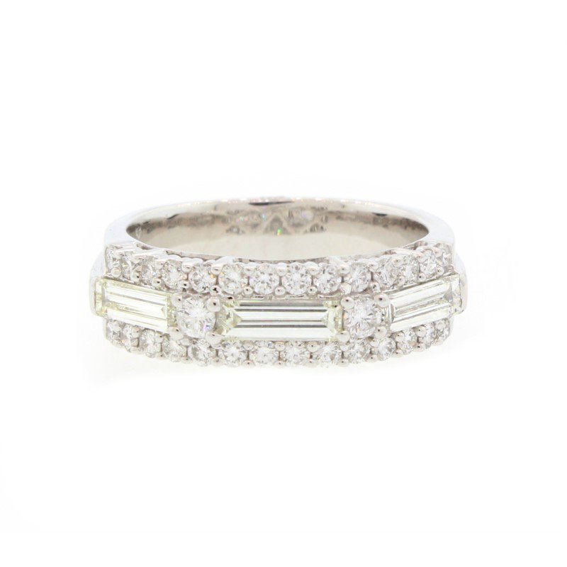 Kelley Collection  Baguette Diamond Ring