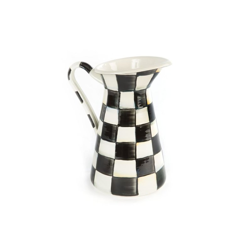 MacKenzie-Childs Courtly Check Practical Pitcher - Medium