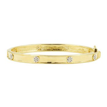 Your Shining Moment Radiance Hinge Bangle